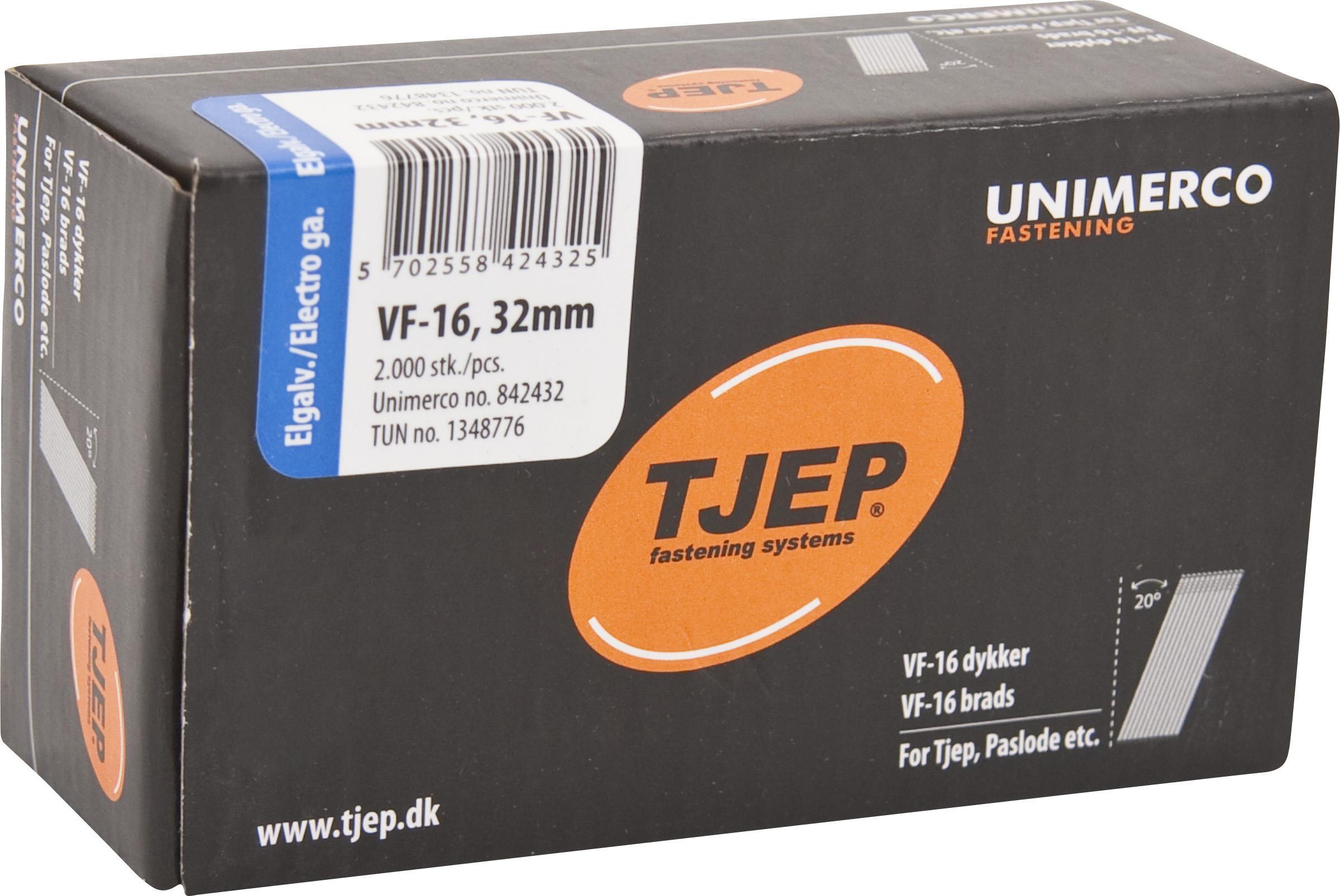 TJEP 842451 Dyckert VF16 FZB 20° 2000-pack 15 x 51 mm