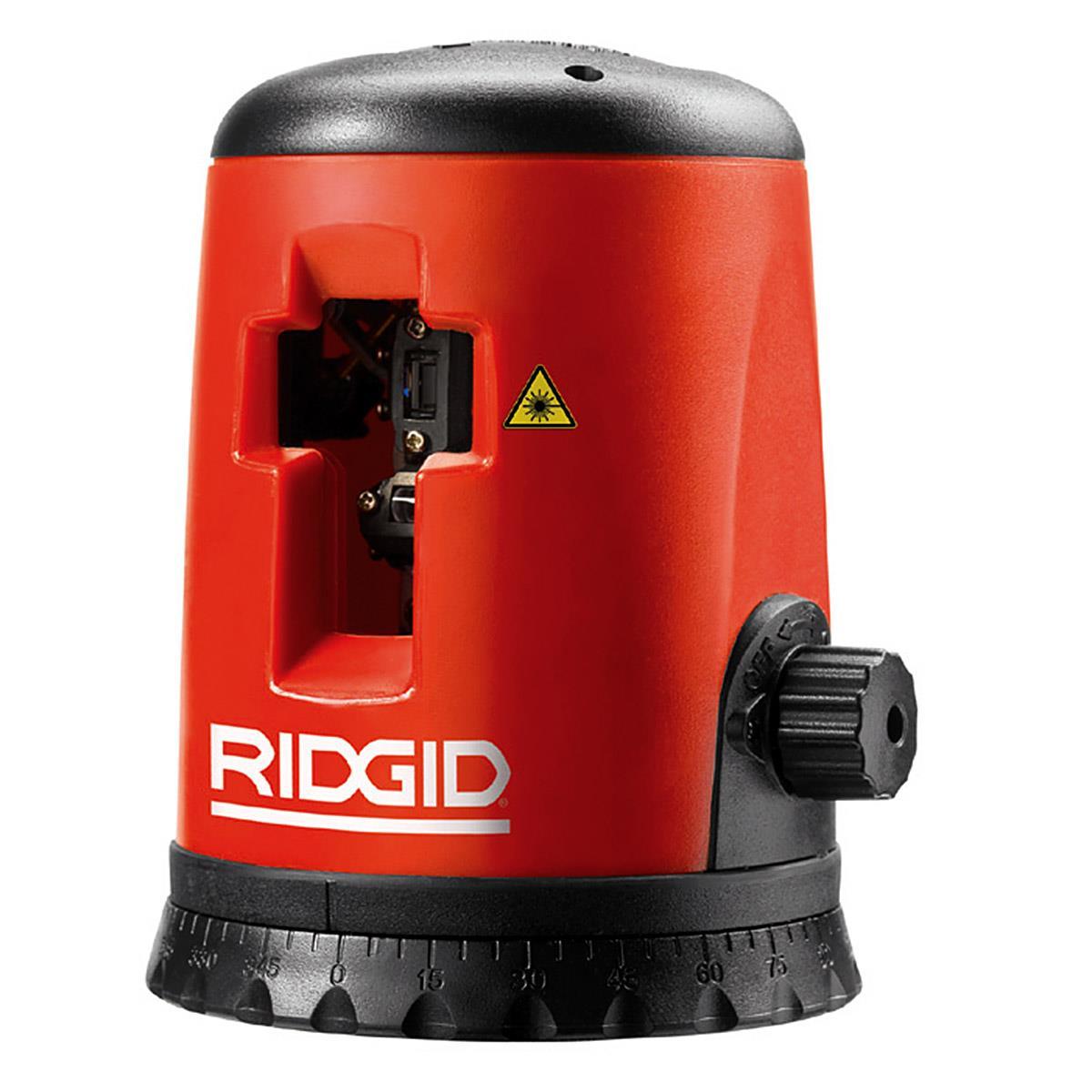 Ridgid Micro CL-100 Laser upp till 30 m stativ och skyddsglasögon