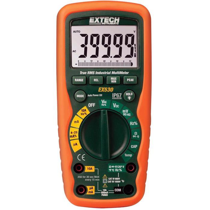 Extech EX530 Digital Multimeter