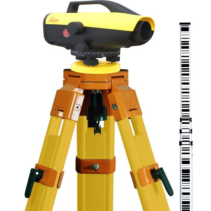 Leica Sprinter 250M Digitalavvägare Startklart paket