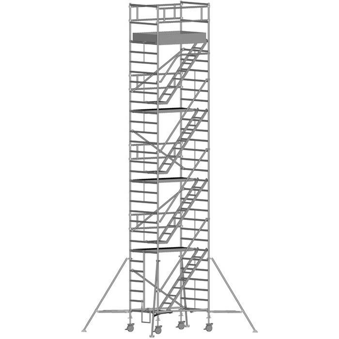 Zarges Z600 Trappställning 135x180x835 meter