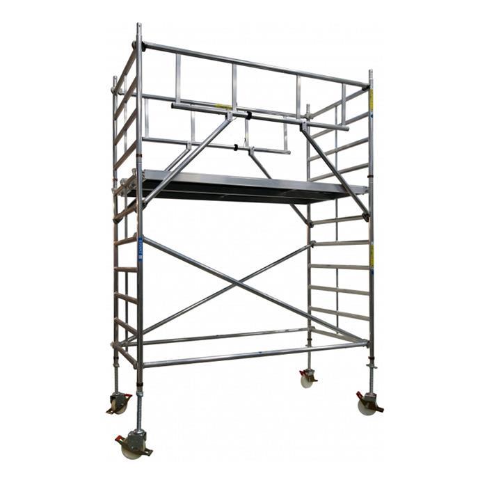 Zarges Z600 S-Plus Safetyställning 135x250x245 meter