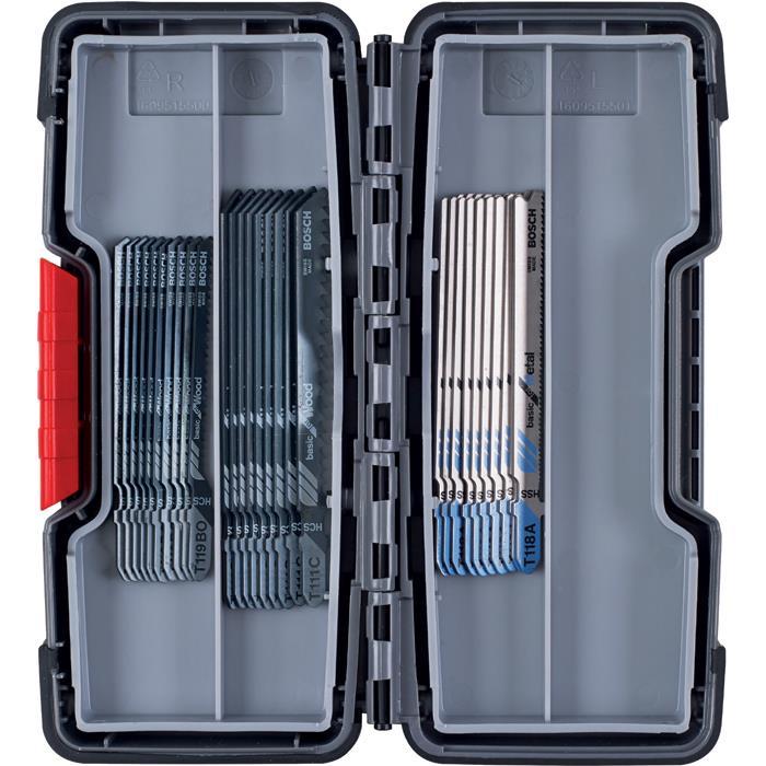 Bosch 2607010903 Sticksågsbladsats 30 delar
