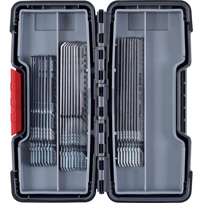 Bosch 2607010905 Sticksågsbladsats 30 delar