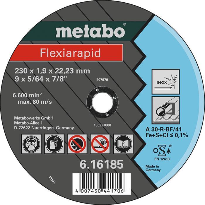 Metabo 616185000 Kapskiva