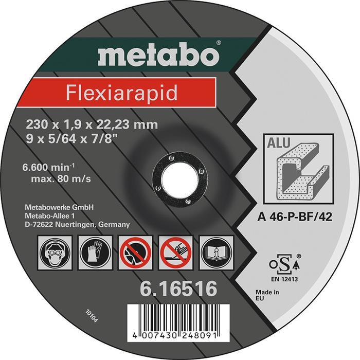 Metabo Flexiarapid Kapskiva för aluminium