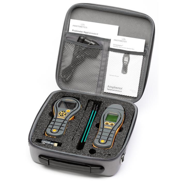 Protimeter HygroMaster II+SurveyMaster II Fuktmätarpaket