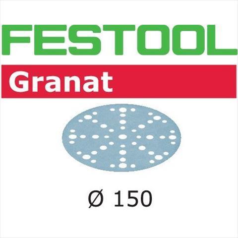 Festool STF GR Slippapper 150mm 48-hålat 50-pack P1500 P1500