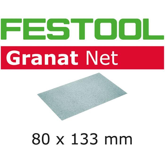 Festool STF 80x133mm GR NET Nätslippapper 80x133mm 50-pack P220