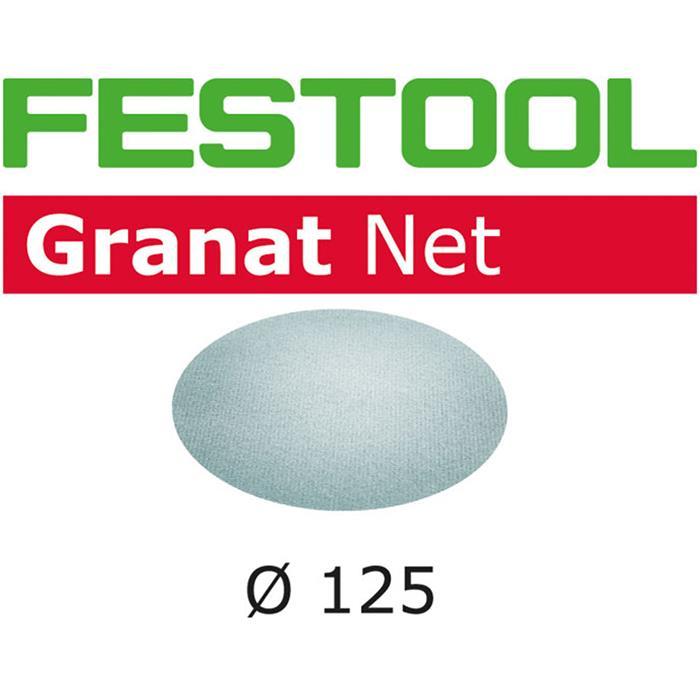 Festool STF D125 GR NET Nätslippapper 125mm 50-pack P180