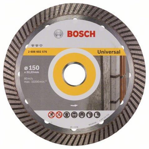 Bosch Expert for Universal Turbo Diamantkapskiva 150x2223mm