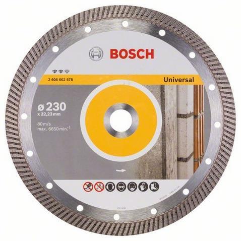 Bosch Expert for Universal Turbo Diamantkapskiva 230x2223mm