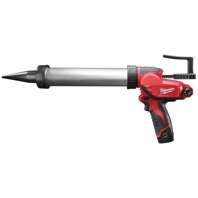 Milwaukee M12 PCG/400A-201B Fogpistol med 20Ah batteri och laddare