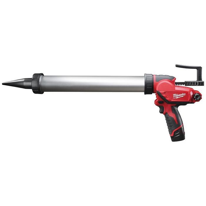 Milwaukee M12 PCG/600A-201B Fogpistol med 20Ah batteri och laddare