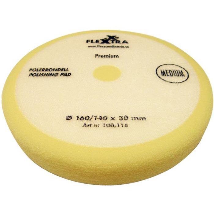 Flexxtra 100118 Polerrondell medelhård 160mm
