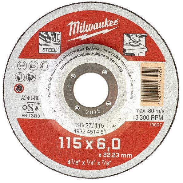Milwaukee SG 27 Contractor Kapskiva 115×6 mm
