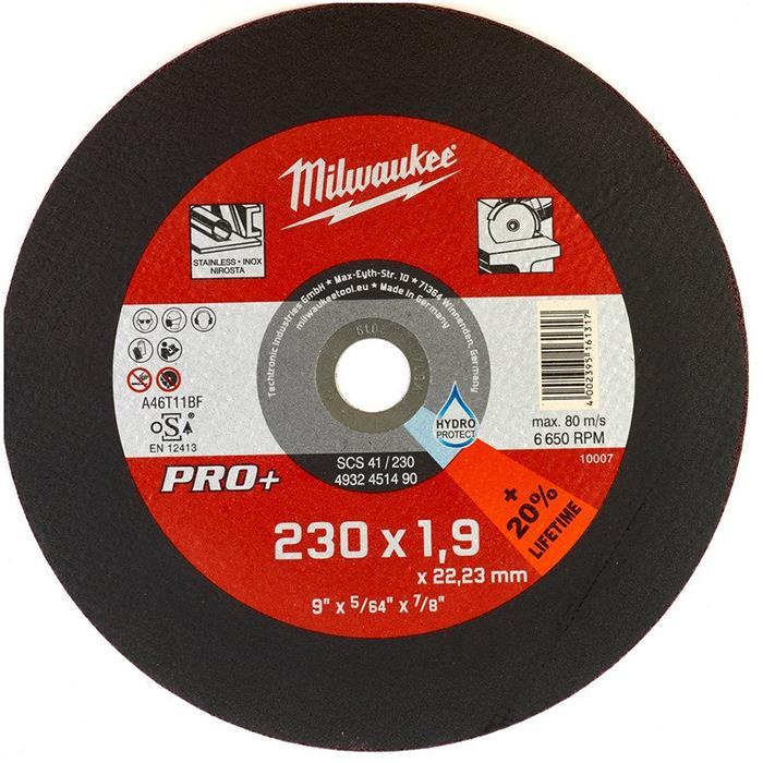 Milwaukee SCS 41 PRO+ Kapskiva 230×19 mm