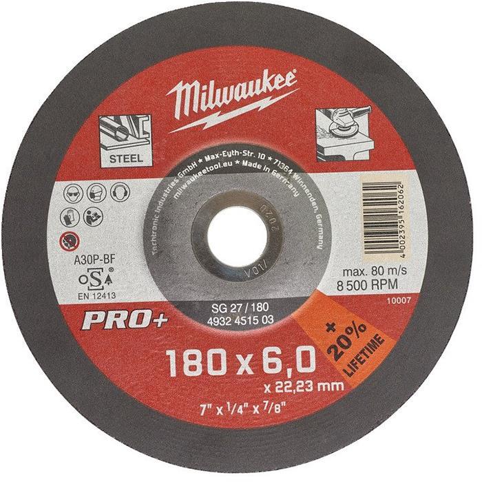 Milwaukee SG 27 PRO+ Kapskiva 180×6 mm