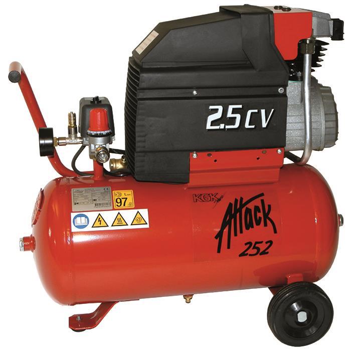 Bilde av Attack 252 Kompressor