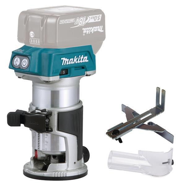 Makita DRT50Z Multifräs utan tillbehör batterier och laddare