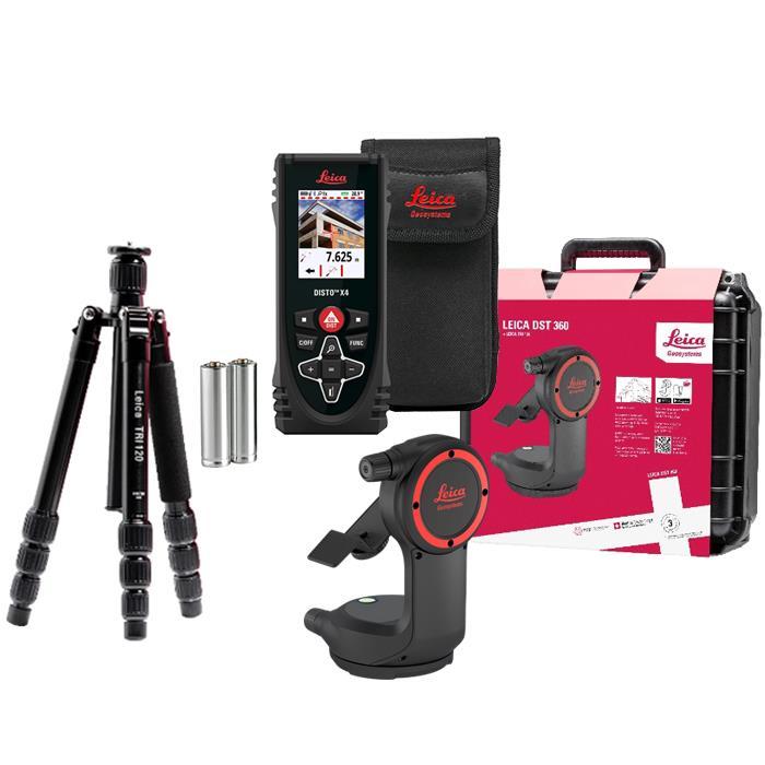 Leica Disto X4 + DST 360 Avståndsmätarepaket