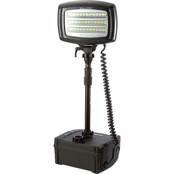 NightSearcher Solaris Lite Arbetslampa med 18Ah batteri