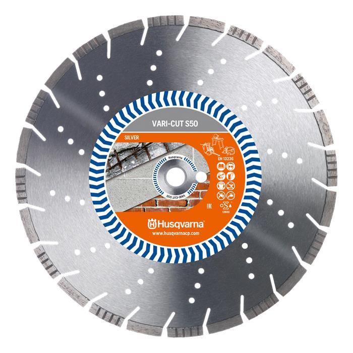 Husqvarna 579807960 VARI-CUT Diamantklinga 180×222 mm