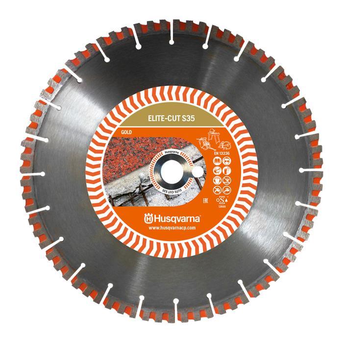Husqvarna 579811510 ELITE-CUT S35 Diamantklinga 300×254 mm