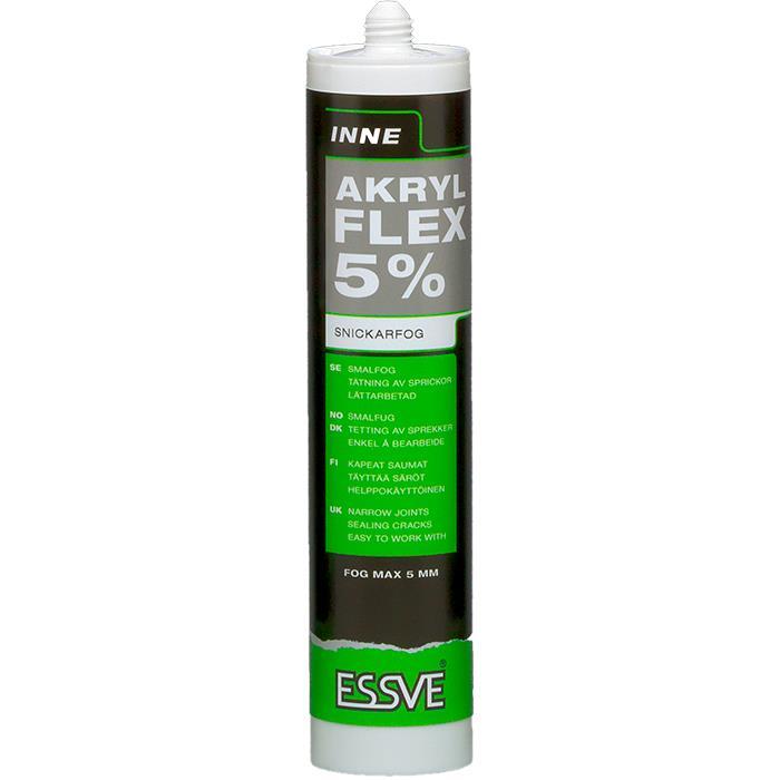 ESSVE FLEX 5% Akryl vit 300ml