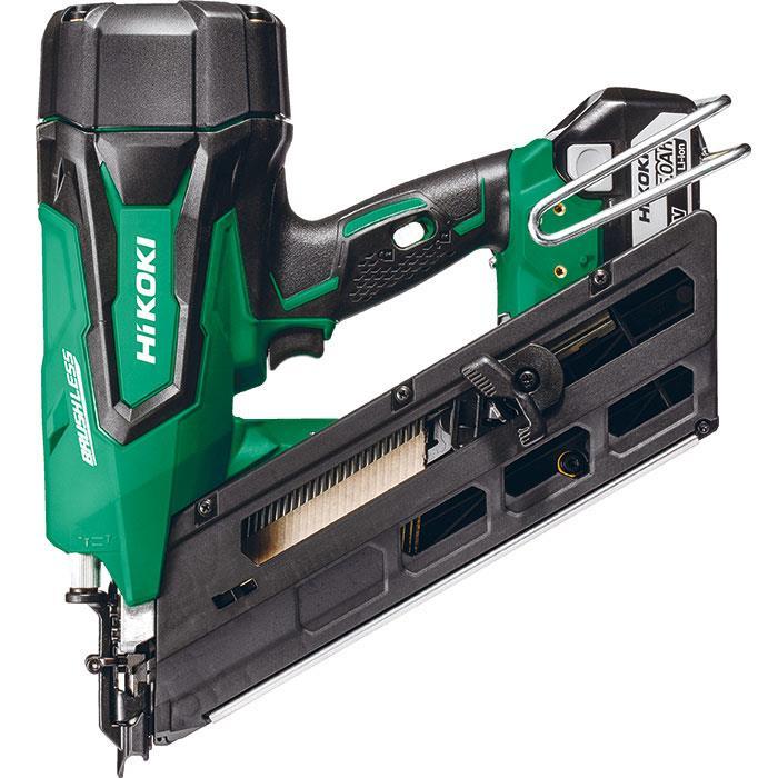 HiKOKI NR1890DBCL Spikverktyg med 50Ah batterier och laddare