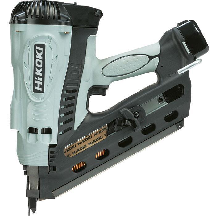 HiKOKI NR90GC2 Spikverktyg med 15Ah batterier och laddare