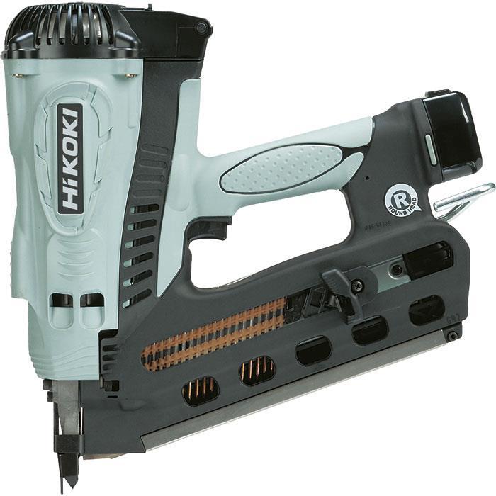 HiKOKI NR90GR2 Spikverktyg med 15Ah batterier och laddare