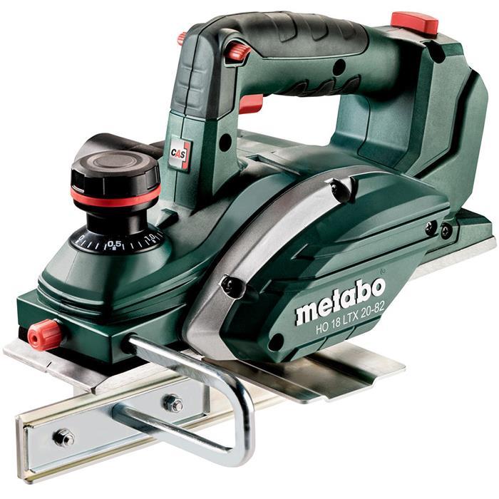 Metabo HO 18 LTX 20-82 Hyvel med väska utan batterier och laddare