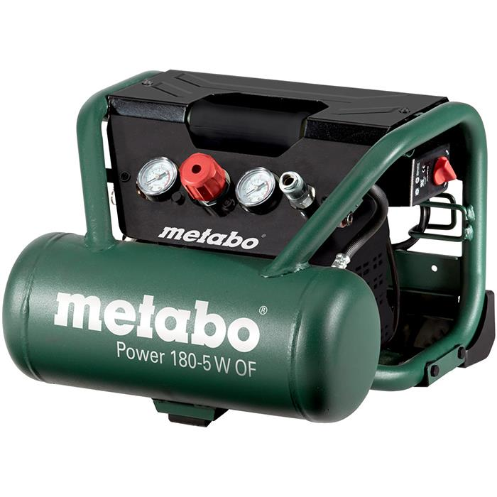 Metabo Power 180-5 W OF Kompressor med 5 liters behållare