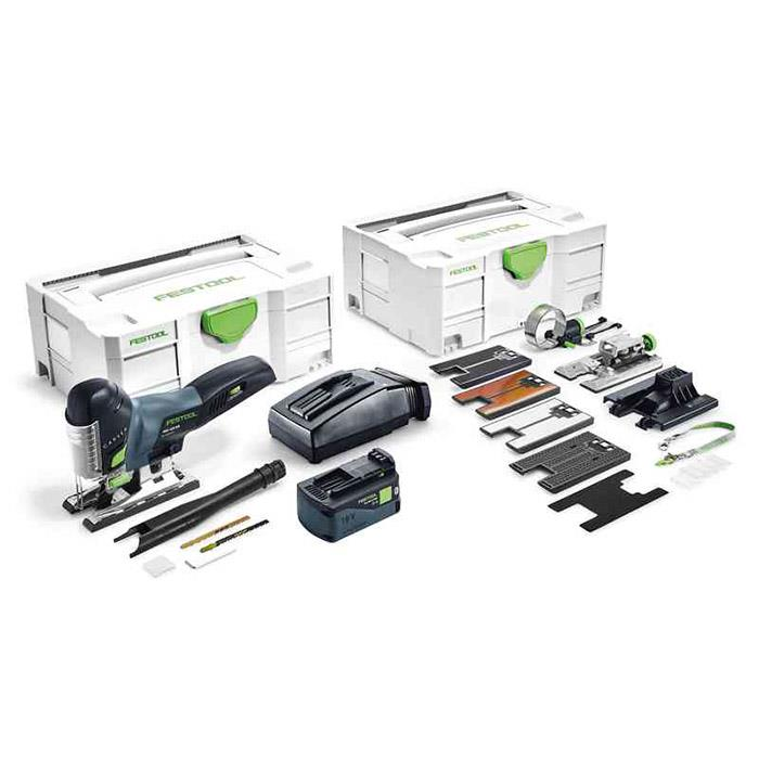 Festool PSC 420 Li 5,2 EBI-Set Sticksåg med systainer, batteri och laddare