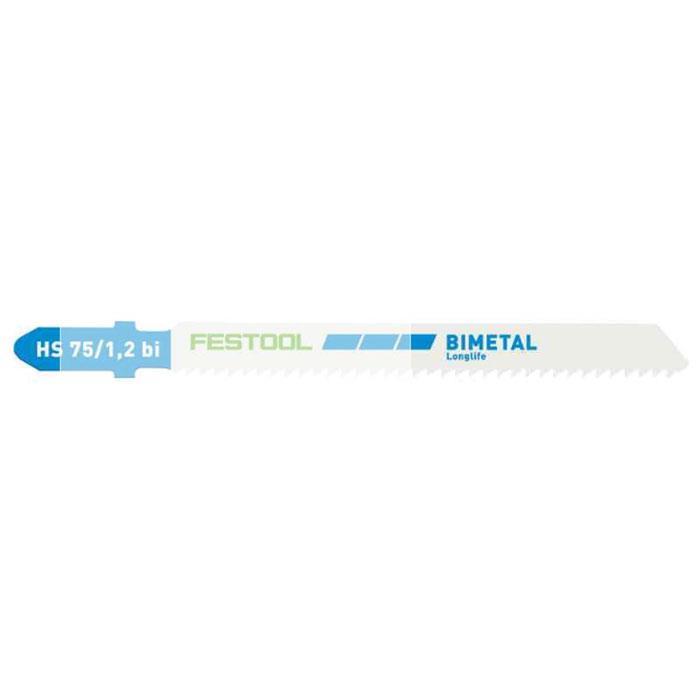 Festool HS 75/1,2 BI/5 Sticksågsblad