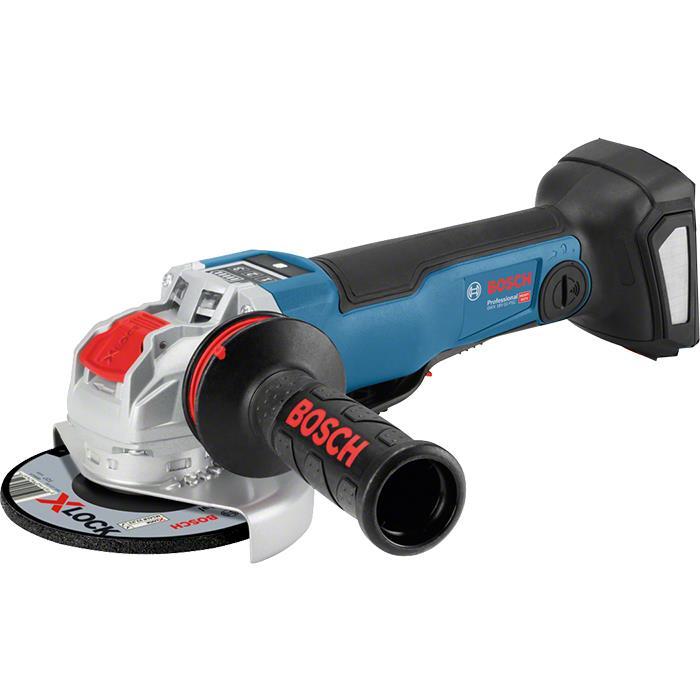 Bosch GWX 18V-10 PSC Vinkelslip med X-LOCK utan batterier och laddare
