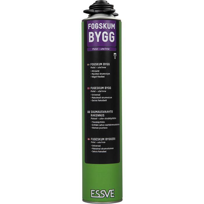 ESSVE Bygg Fogskum gul 850 ml