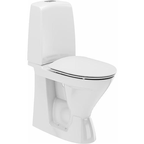 Ifö Spira 626109311010 Toalettstol hög, med hårdsits soft-close, för limnin