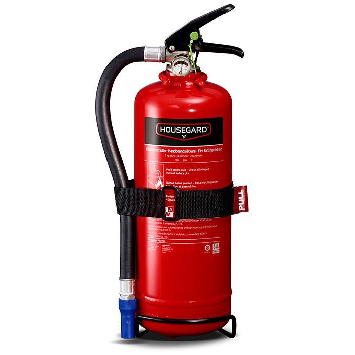 Housegard PE2TGH Brandsläckare pulver 2 kg röd