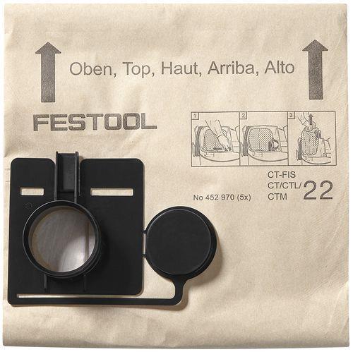 Festool FIS-CT 44 Filtersäck 5-pack