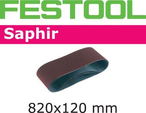 Festool SA Slipband för CMB120 820x120mm 10-pack P80