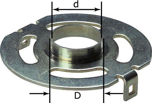Festool KR-D 138/OF 1400 Kopierring