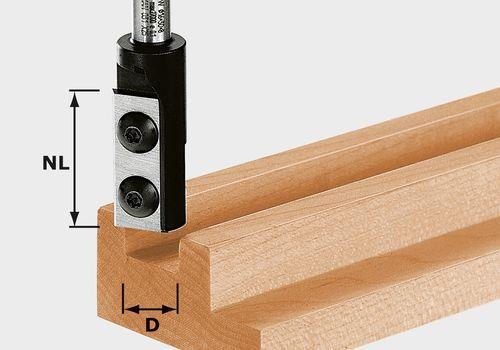 Festool HW D18/30 S8 Notfräs med vändskär 8mm