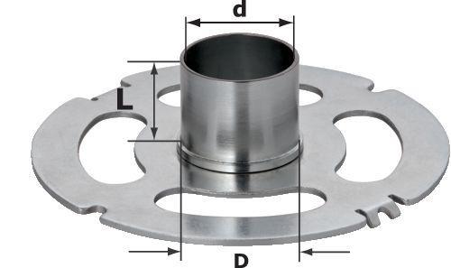 Festool KR-D 127/OF 2200 Kopierring