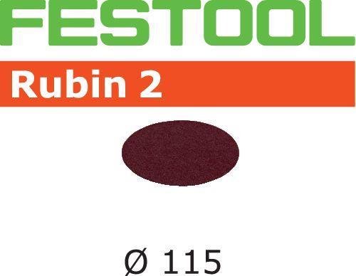 Festool STF RU2 Slippapper 115mm 50-pack P60