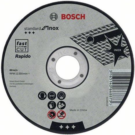 Bosch Standard for Inox Kapskiva 125x1mm 1-pack