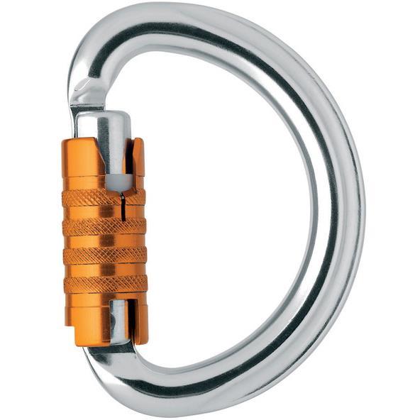 Petzl Omni Triact autolock Karbin Blank/Orange
