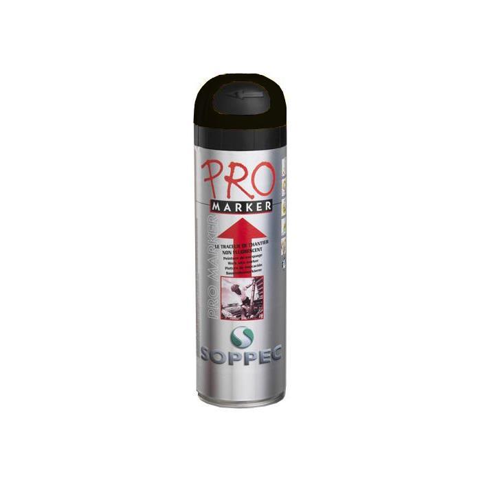 Soppec Promarker Markeringsfärg 12-pack Svart
