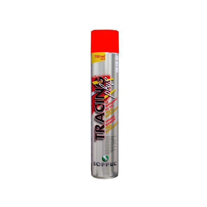 Soppec Tracing Plus Väglinjefärg 6-pack Röd
